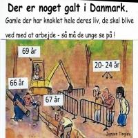 Der er noget galt i Danmark