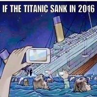 Hvis Titanic sank i dag