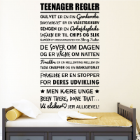 Alle teenage regler