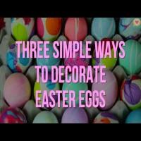 Er du klar til dekoration af påskeæg